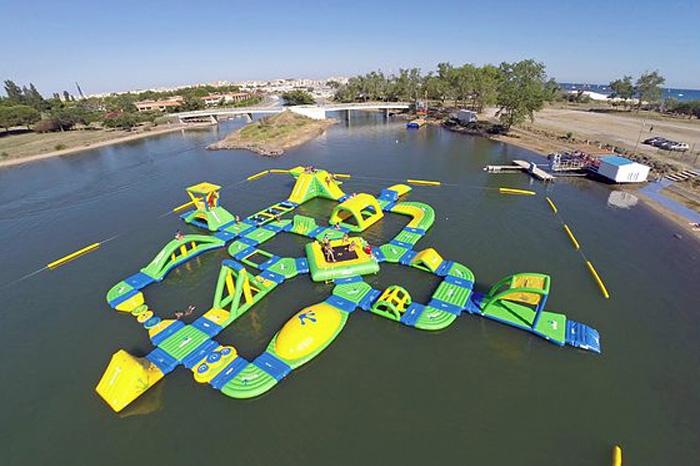 Ouverture d 39 un nouveau parc wibit aquapark au cap d 39 agde for Cap d agde jardin d eden
