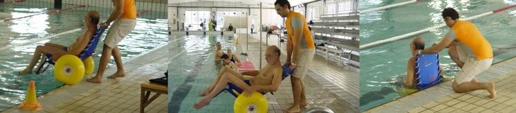 Fauteuil job en piscine