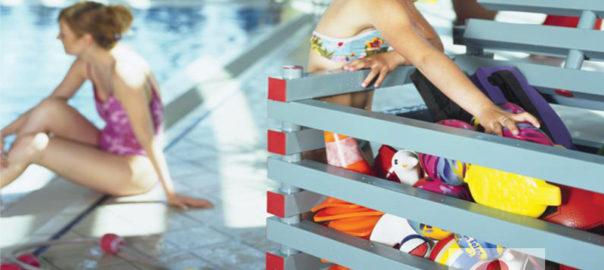 rangement pour piscine