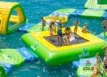 Zoom sur : le trampoline flottant