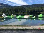 Parcours gonflable aquatique d'occasion à vendre