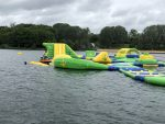 Un nouvel aquaparc gonflable s'installe en Ile-de-France